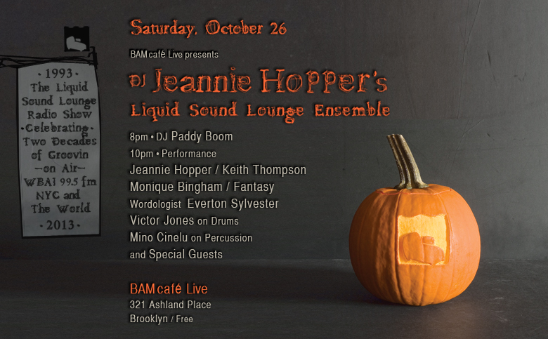 DJ Jeannie Hopper LIVE / Sat, Oct 26